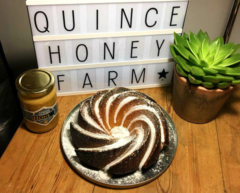 Heather honey cake