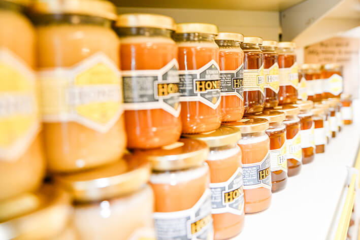 Quince Honey Farm's seasonal honeys
