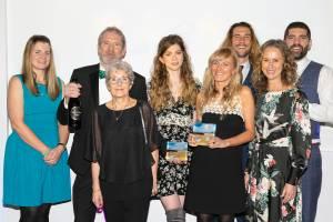 Quince Honey Farm at the Devon Tourism Awards c. Nick Williams Photographer