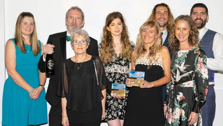 Success at the Devon Tourism Awards 2018!