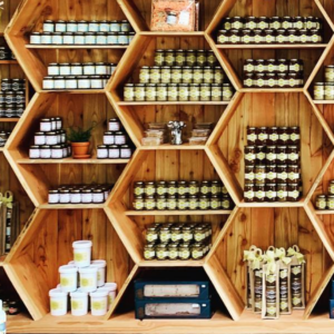 Shop shelf