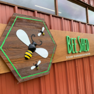 bee shed