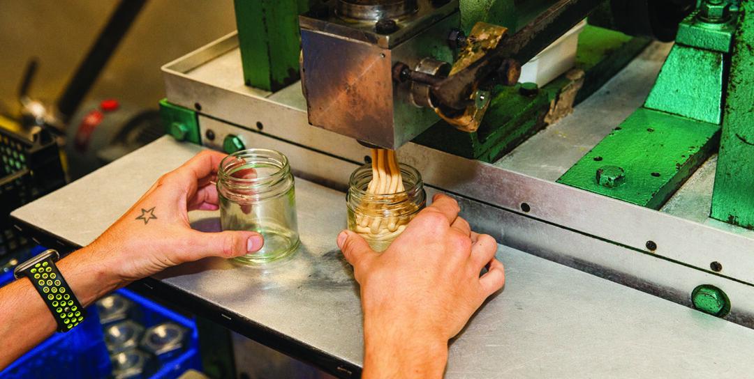 honey factory bottling